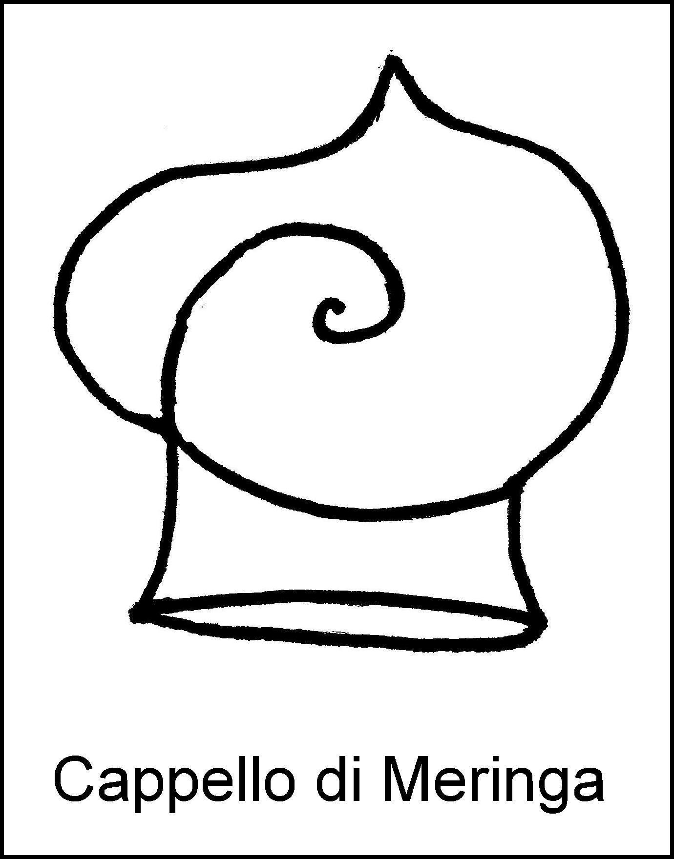 Cappello di Meringa