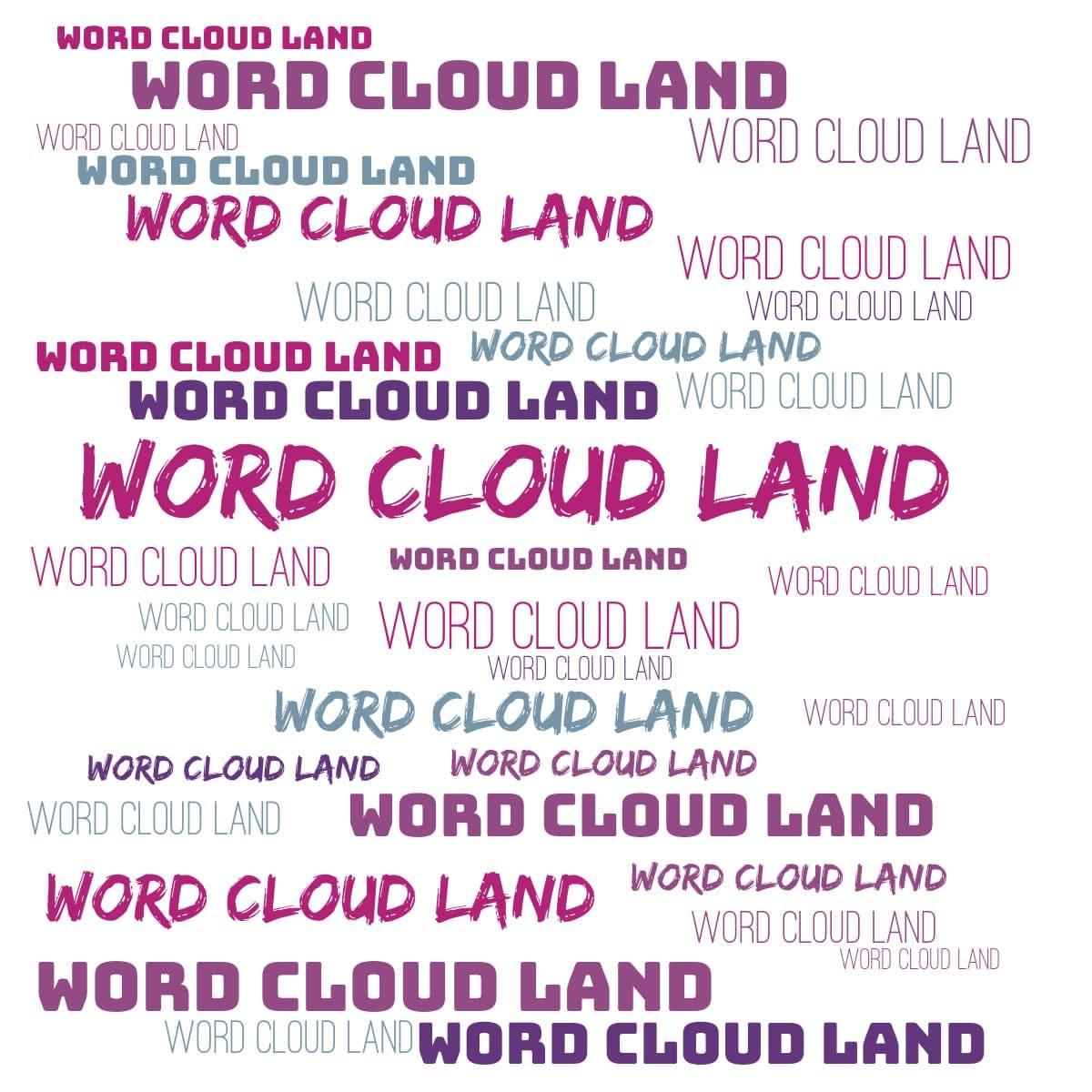 Word-cloud-land